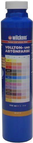 Wilckens Abtoenfarbe - Volltonfarbe / 750 ml/matt - 14 Farben zur Auswahl (Blau)