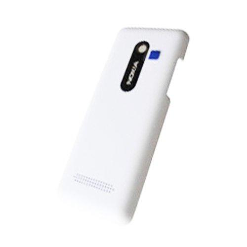 Copri-batteria originale per Nokia 206 Dual Sim, bianco