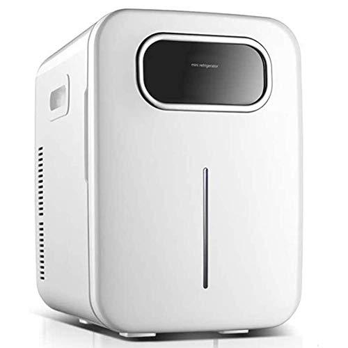 GJNVBDZSF Geladeira portátil, geladeira de carro, geladeira, geladeira, geladeira, 12 V, mini geladeira branca de carro, 220 V, congelador eletrônico doméstico, refrigerador inteligente, refrigerador de carro