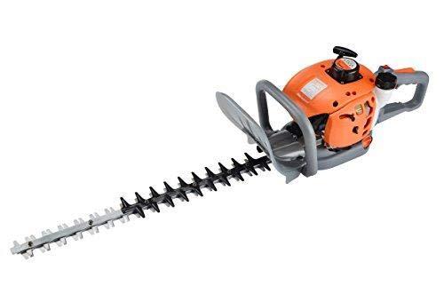 eSkde HT60-S7 Petrol Hedge Trimmer 24' Blades Adjustable Handle, Orange