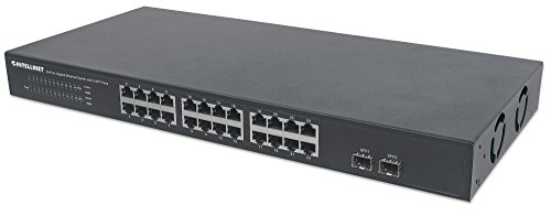Intellinet Switch Gigabit Ethernet 24 Porte + 2 Porte SFP