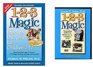 1-2-3 Magic Book & DVD Set: Managing Difficult Behavior in Children 2-12