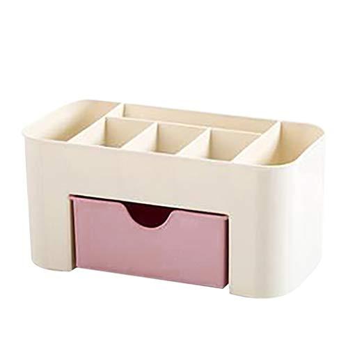 Dwevkeful Kosmetiktabletts Beauty Organizer, Make Up Kosmetik Organizer, Einsparung Space Schublade Typ Make-up Kit Desktop Kosmetik Organizer Aufbewahrungs Box, Schmink Aufbewahrung Kosmetikbox