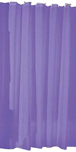 SIDCO Duschvorhang Badewannenvorhang Wannenvorhang 180 x 200 (violett)