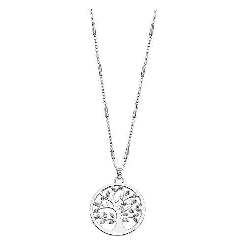 LOTUS Silver Collar con colgante del árbol de la vida LP1892-1/1 con circonitas, plata 925 JLP1892-1-1