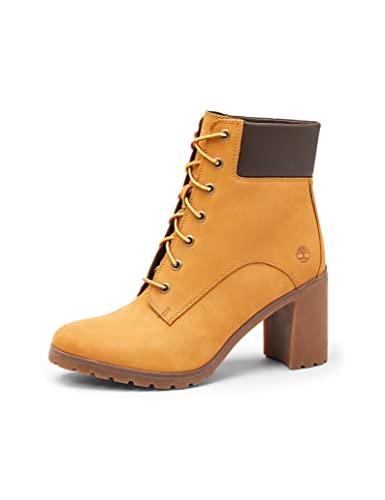 Timberland Women's Tillston Fashion Boot, Wheat Nubuck, 9