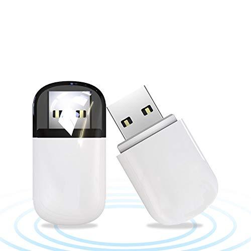 Adattatore USB WiFi Dongle 600M WiFi ad Alta velocità Dual Band 2.4 5GHz Adattatore di Rete Wireless per PC Desktop Tablet Laptop, Compatibile con Windows, Mac OS X