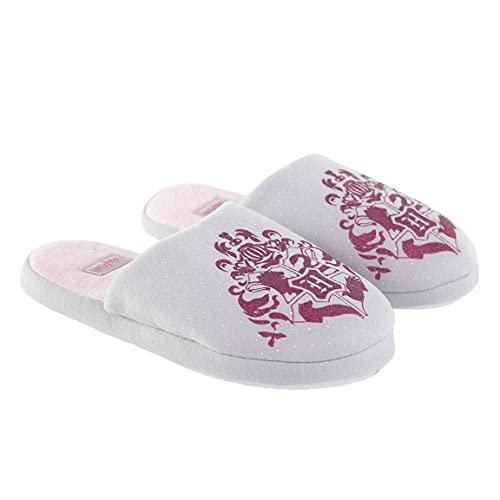 Zapatillas de interior para niña, Harry Potter, color gris y rosa del 28 al 35 (EU, numeric_32)