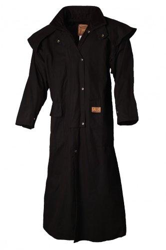 SCIPPIS Riding Coat Oilskin Coat, Farben:schwarz, Groeße:XXL