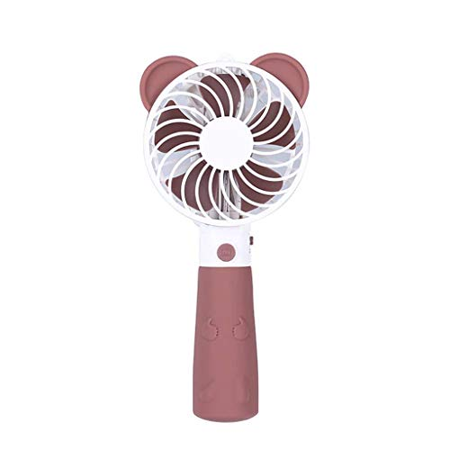 ZJHDX Draagbare Ventilator, Mini USB Ventilator, Hand Held Ventilator, Persoonlijke ventilator met Afneembare Basis, Batterijleven, Het aanbieden van Sterkere Wind buiten en binnen
