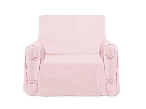 Sessel-Bezug, aus Baumwolle Panama Rosa