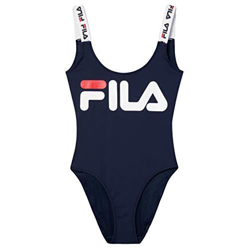 Fila Body YUUNA Swimsuit Black Iris, Blau M