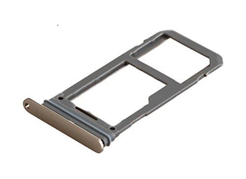 ICONIGON Ersatz für Galaxy S8+ Plus (SM-G955F) SIM/SD-Kartenhalter (Gold)