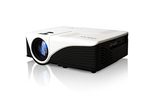 iDGLAX iDG-787W LCD LED Video Multi-media Mini Pico Portable Home Theater Cinema Gaming Movie 300 Lumens HD Ready Proyectore Projector with HDMI USB SD AV VGA Interfaces