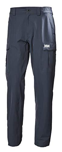 Helly Hansen HH Secado Rápido Softshell Pantalones De Carga, Hombre, Azul Marino, 30