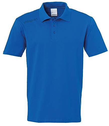 uhlsport Herren Essential Polo Shirt Poloshirt, azurblau, 4XL