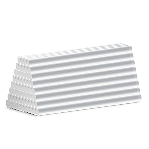 ミニグルーガン切り替え用スティック 7mm(直径)×100mm(長さ) 高温・低温デュアルタイプ (クリア、60本入り)