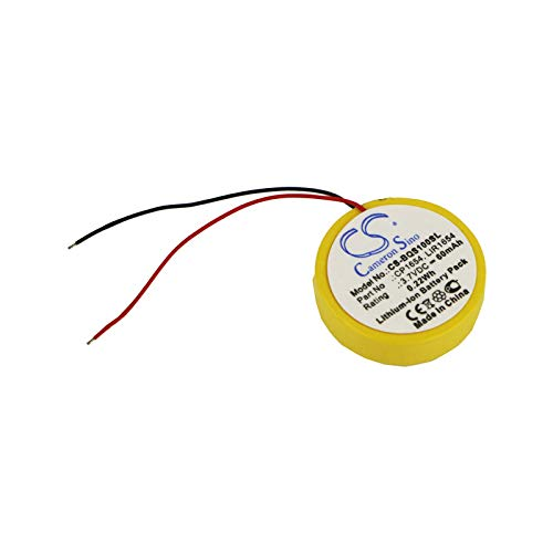 CS Batteria agli ioni di litio 60 mAh/0,22 Wh adatta per Bose SoundSport Wireless soundsport Pulse, sostituisce Bose CP1654 LIR1654