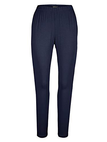MIAMODA Damen Leggings Marineblau 48 Baumwolle