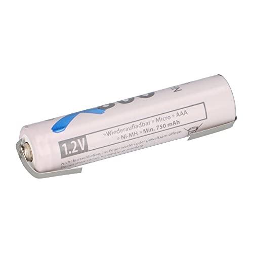 AAA Micro batería LSD Plus Ni-MH 1,2 V 800 mAh U Soldadura Low Self-Discharge Recargable + baja autodescarga