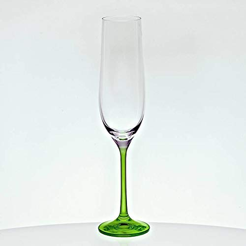Flûte de champagne Rainbow 190ml, verre, (GERMAN Cristal powered by CRISTALICA)
