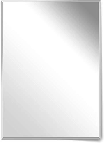 Homestyle Rahmenloser Facettenspiegel 50 x 70 cm Hochwertiger Wandspiegel Made in Germany