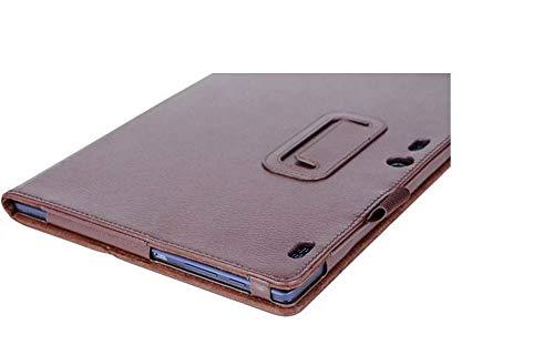 Lobwerk Schutzhülle für Lenovo Tab 3 10 Business A10-70F TB3-X70 (F/L) Plus 10.1 Zoll Smart Slim Case Book Cover Stand Flip (Braun) NEU