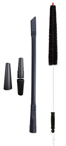Dryer Vent Cleaner Kit Vacuum Attachment And Dryer Vent Brush. This Dryer Lint Brush Vent Trap Cleaner Tool Can Reduce Your Risk Of A House Fire! The Lint Eraser Dryer Duct Cleaning Kit