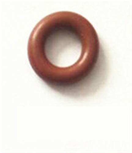 100pcs GB3-100 Universal-FKM Gummi O-Ringe ID7.52 * CS3.53mm Gummi-Dichtungen Kraftstoffeinspritzdüseprüfvorrichtung Reparatursatz AY-O2012 ASNU08C (Color : Brown color)