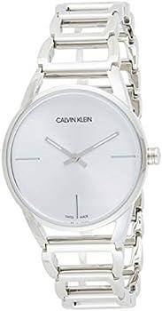 Calvin Klein Stately Quartz Silver Dial Ladies Watch