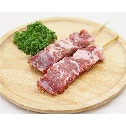豚コメカミ(かしら)串 40g×10本 国産豚 (15cm丸串)(pr)(45120)(やきとん)