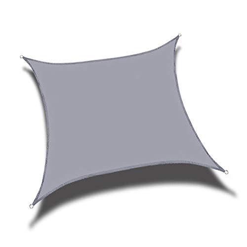 TRITTHOCKER Quadrilaterale Markise, wasserdicht, Anti-Ultraviolett und Anti-Aging, verwendet für Camping-Zelt-Segel im Freien im Garten und den Strand,5x5m