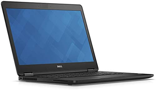 Dell Latitude E7470 14in Laptop - NO Webcam - Core i5-6300U 2.4GHz, 8GB Ram, 256GB SSD, Windows 10 Pro 64bit (Renewed)