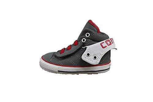 Converse Säuglinge/Kleinkinder CT PC2Mid Easy Slip–736054C, anthrazit weiß, Schwarz - schwarz - Größe: 37.5 EU