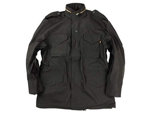 [アルファ インダストリーズ] ALPHA INDUSTRIES M-65 フィールドジャケット ブラック XS