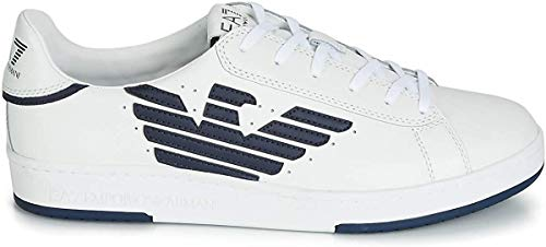 Ea7 Court Sneaker Hombre Zapatillas Blanco