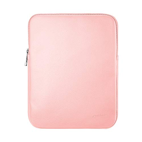"9-11 Laptop Sleeve Bag Case Water Resistant PU Leather Protective Cover Portable Pouch for 9.7"" 10.5"" 11"" iPad Pro / 10.5"" iPad Air / 10"" Microsoft Surface Go / 10.1"" Lenovo Yoga Book - Pink"