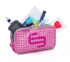 Elite – Pinke, medizinische, isothermische Kühltasche für Insulin für Diabetiker