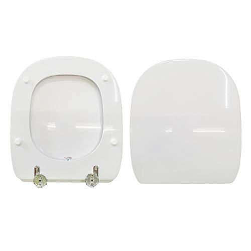 Copriwater 500 POZZI GINORI compatibile laccato bianco lucido poliestere