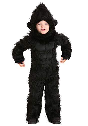 Gorilla Costume Toddler 4T Black