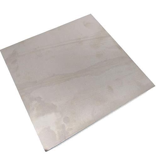 0.5mm x 200mm x 200mm Titanium Plate Ti Titan TC4 Gr5 Plate Sheet Foil
