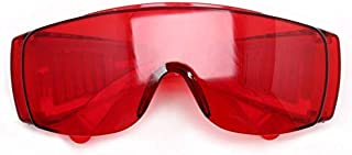 VIQILANY Dental Protective Glasses For Curing Light Teeth Whitening Lamp UV GOGGLE Red Color Dental Tools Dentist Laborato...