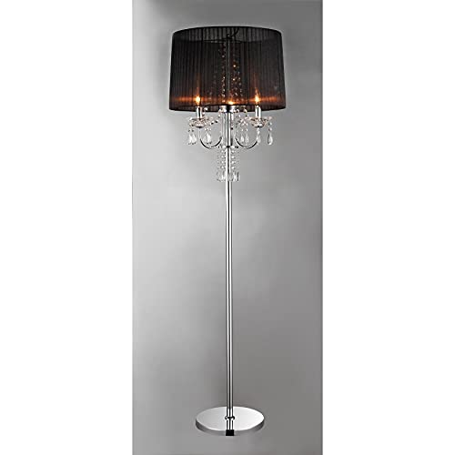 Concordia Crystal Floor Lamp