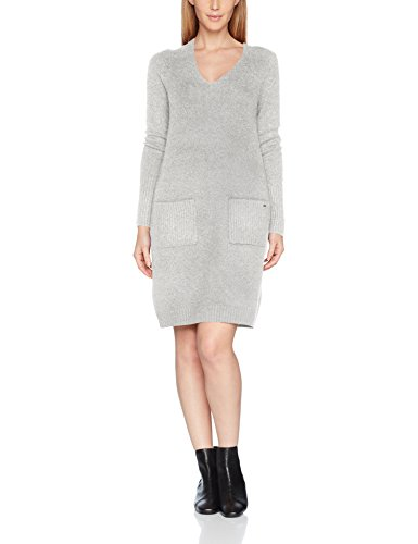 s.Oliver Damen 14710827151 Kleid, Elfenbein (Creme Knit 02X0), 40