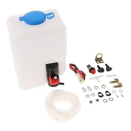 Homyl Bouteille de Pompe de Réservoir de Lave-Glace Kit Universel