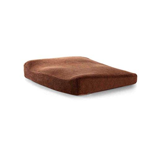 CushionDY Dongy kussen bureaustoel kussen, ontspannen dijen spieren, traagschuim stoel kussen bureaustoel bekleed auto zitkussen zacht en comfortabel