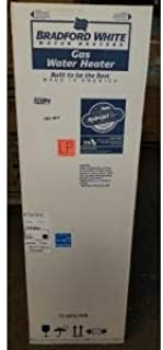BRADFORD WHITE M4TW40T6FSX 40 GALLON HIGH EFFICIENCY POWER VENT LP HOT WATER HEATER 115/60/1