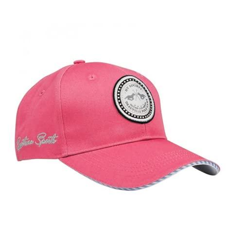 HV Polo Baseballcap Kappe Manon - trendiges, praktisches Cappy, schützt gegen blendendes Sonnenlicht (Raspberry)