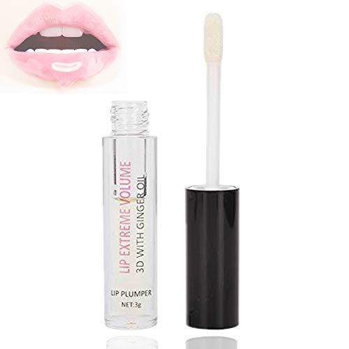 Lip Plumper Labbra carnose, 3g Plant Lip Enhancer Maximizer Gloss Siero balsamo labbra idratante rimpolpante per idratare le labbra Maximizer Lip Care