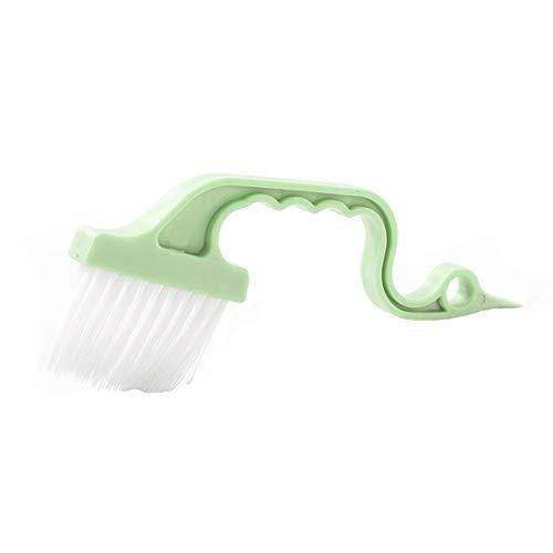 Demarkt borstel gebogen reinigingsborstel afwasborstels toilet groef kunststof keuken wc raam schoonmaakborstel scrubber gereedschap